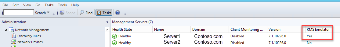 SCOM 2012 : How to move RMS Emulator role to another